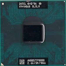 Intel Core 2 Duo Laptop CPU Processor P8800 2.667 GHz 3M Cache 1066MHz FSB SLGLR