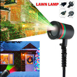 Outdoor Starry Projection Waterproof Lamps Stage Light Christmas Garden Decor