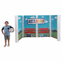 Sports Vbs Large Dugout Stand-Up - Party Decor - 1 Piece