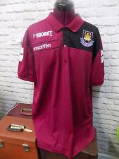 West Ham United Button Collar SBOBET Macron Top Shirt Men's XXL
