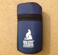 Vintage NALGENE TRAIL PRODUCTS Padded Cell Protective Zippered Case Bottle Pouch