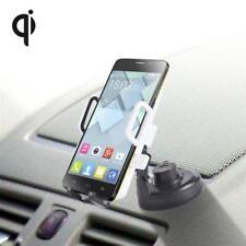 Wireless KFZ Auto Halterung QI Samsung Galaxy S9 Note 8 Iphone X 8 8 Plus