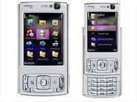 Original Nokia N95 Mobile Phone 3G HSDPA 2100 WIFI GPS 5MP Unlocked