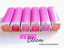 Maybelline Colorsensational Lipstick ~Rebel Bloom Collection ~ Choose Your Shade