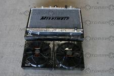 MISHIMOTO 94-99 Celica GT/GT-4 Radiator+Fans BLACK T200
