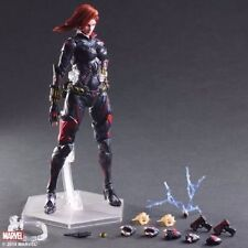 PLAY ARTS KAI BLACK WIDOW VARIANT DC MARVEL UNIVERSE AVENGERS ACTION FIGURE TOY
