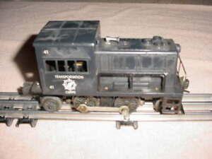 LIONEL Postwar 41 US Army Transportation Corp Gas Turbine Switcher Engine  0-027