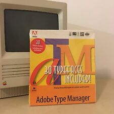 Adobe Type Manager Vintage Macintosh Software