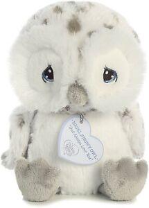 """Aurora - Precious Moments - 8.5"""" Nigel Snowy Owl"""