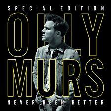 OLLY MURS - NEVER BEEN BETTER 2 CD NEU