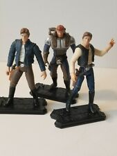 Star Wars 3.75 Han Solo ANH ESB Figure Lot As Is