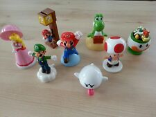 Super Mario Bros Figuren 8 Stück Set Nintendo Mc Donlads 2016
