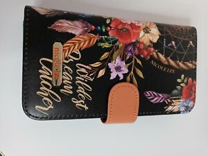 Nicole Lee Universal Adjustable One Size Fit All Cell phone Case Bohemian Black
