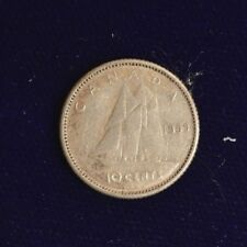 Canada 1959 10 CENT  - Nice Coin Book filler ~ average circulated