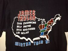 New listing ! Vintage 1982 Sweet Baby James Taylor In Concert T-shirt !