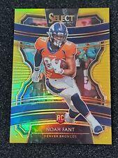 2019 Select #66 Noah Fant Concourse Gold Prizm Rookie #2/10 Broncos