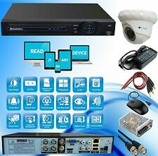 1 INDOOR NIGHT VISION SECURITY CCTV CAMERA + 4 CH DVR + COMBO OFFER