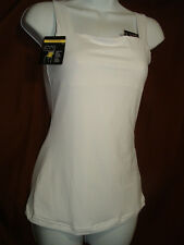 NEW MAIDENFORM TOP SOLUTIONS DM1000 WHITE SQUARE NECKLINE FIRM CONTROL TANK M