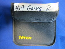TIFFEN 4x4 FILTER  GRAPE  # 2 (USED)