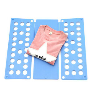 New Adjustable T-Shirt Clothes Fast Folder Folding Board Laundry Organizer Home