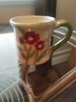 Ambiance Fleur Rustique Mug Red Poppies Nanette Vacher MINT