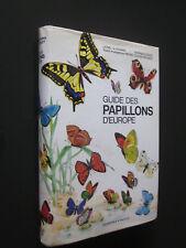 GUIDE DES PAPILLONS D'EUROPE DELACHAUX NIESTLE