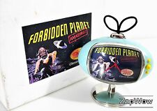 FORBIDDEN PLANET TV CLOCK 1990s Working Vintage Die-Cast Movie Robby Robot Boxed