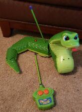Vintage Fisher Price Mattel Slithering Jake Snake Remote Control Toy 1999 Tested