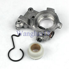 Oil Pump Oiler + Worm Gear Spring For STIHL MS650 MS660 066 064AV Chainsaw