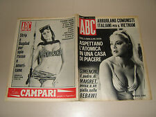 ABC=1965/13=VIRNA LISI=CLAUDINE AUGER BOND GIRL=CAMILO CIENFUEGOS=COVER MAGAZINE