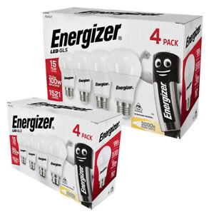 Energizer LED GLS Bulbs 13.2W = 100WATT BC B22/ES E27 Lightbulb Warm White 3000K