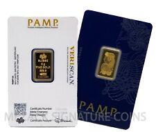 5 gram Gold Bar - PAMP Suisse, Fortuna - 999.9 Fine in Sealed Assay veriscan