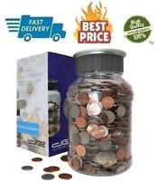 Enormous Piggy Bank Big Coin Jar Set Money Jug Counter Adult Digital Holder Lcd