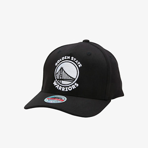 Mitchell & Ness Golden State Warriors Adjustable Fit Classic Red Stretch Cap