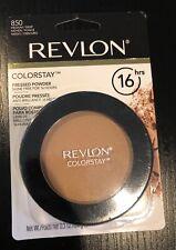 Revlon Colorstay 16 HRS Pressed Powder #850 Medium/Deep  New Sealed