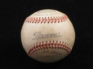 Vintage Milwaukee / Atlanta Braves Team Baseball