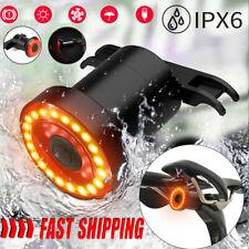 Bremsinduktion Fahrrad LED Rücklicht Bremslicht Fahrradlicht Lampe Warnlicht DHL