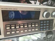 Akai S1100 Sampler with Akai MPD16 midi controller