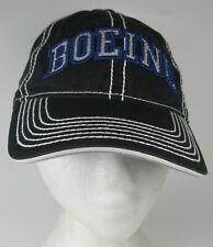 Boeing Cap Hat Strapback Official Adjustable 100% Cotton Baseball Aviation EUC