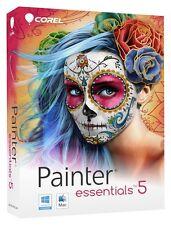 Corel Painter Essentials 5 windows / Mac Retail disc version NEW SEALED