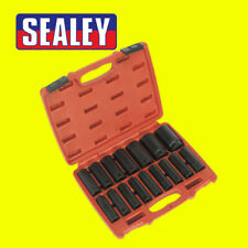 Sealey AK5816M Deep Impact Socket Set 10mm - 32mm 1/2 Drive & Storage Case