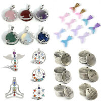 New Charms Mixed Mermaid Fish Angel Wings Heart Pendants For DIY Jewelry Making