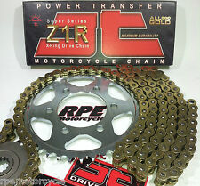 BMW S1000RR '09/11 JT Z1R 525 PREMIUM GOLD CHAIN AND SPROCKETS KIT *OEM or Q.A.