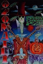 OZOMATLI  FILLMORE POSTER Quetzal Original Bill Graham F485 J. Shea