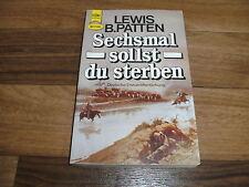 Lewis B. Patten -- SECHSMAL sollst DU STERBEN // Heyne Western Taschenbuch 1985