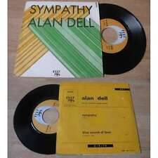 ALAN DELL - Sympathy / Blue Sound Of Love Rare French PSYCH PROG PS 69'