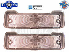 66-67 Chevy II Nova Parking Turn Light Lamp Lens & Gasket CLEAR USA MADE