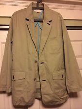 TravelSmith Men's Bush Poplin Nomad 74042 Coat Jacket Size Medium Washable