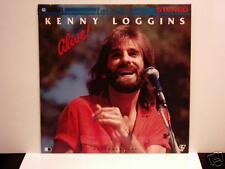 JAPAN Kenny Loggins Alive 1981 Pioneer Laser disc