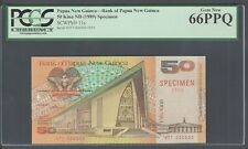 Papua New Guinea 50 Kina ND(1989) P11s Specimen Uncirculated
